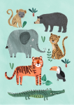 Plakat JUNGLE 50 x 70 cm