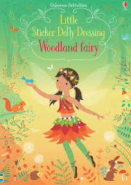 Reusable STICKER DRESSING BOOK Woodland Fairy