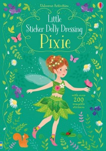 Reusable STICKER DRESSING BOOK Pixie