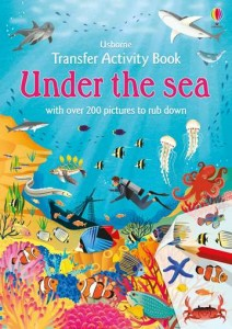 Little Transfer Book UNDER THE SEA  z kalkomanią 600 szt