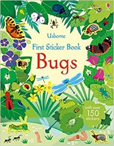 FIRST STICKER BOOK BUGS z naklejkami