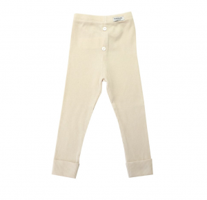 Legginsy LUCY FIA CREAM COTTON Donsje