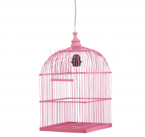 Lampa BIRDY PINK