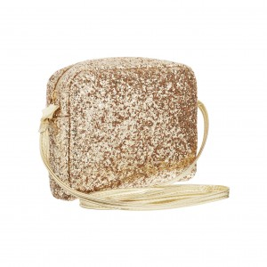 Torebka CROSSBODY GLITTER GOLD