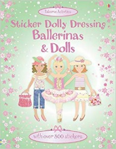 STICKER BALLERINA & DOLLS XL book