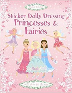 STICKER PRINCESS AND FAIRIES XL book