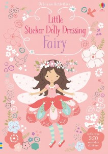 Reusable STICKER DRESSING BOOK Fairy