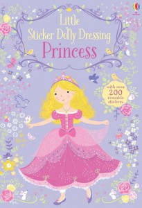 Reusable STICKER DRESSING BOOK Princess