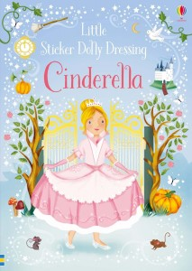 Reusable STICKER DRESSING BOOK Cinderella