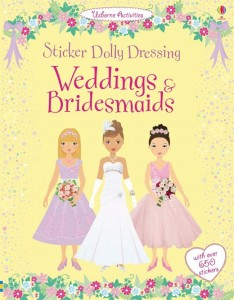 STICKER WEDDINGS&BRIDESMAIDS XL book