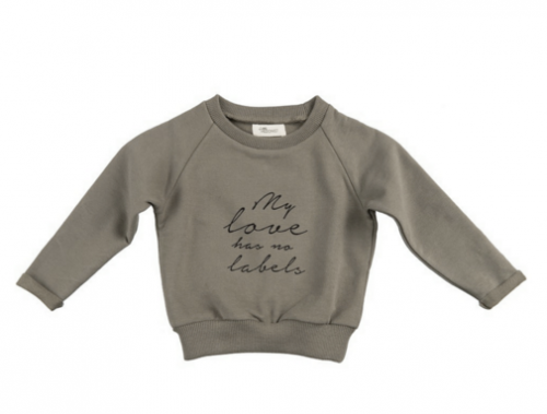 Bluza Little Hedonist grey MY LOVE HAS NO LABELS
